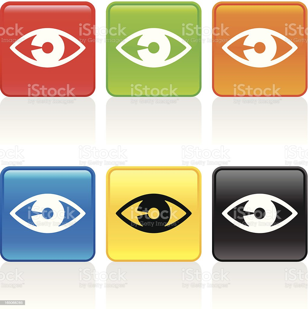 Eye Icon royalty-free stock vector art