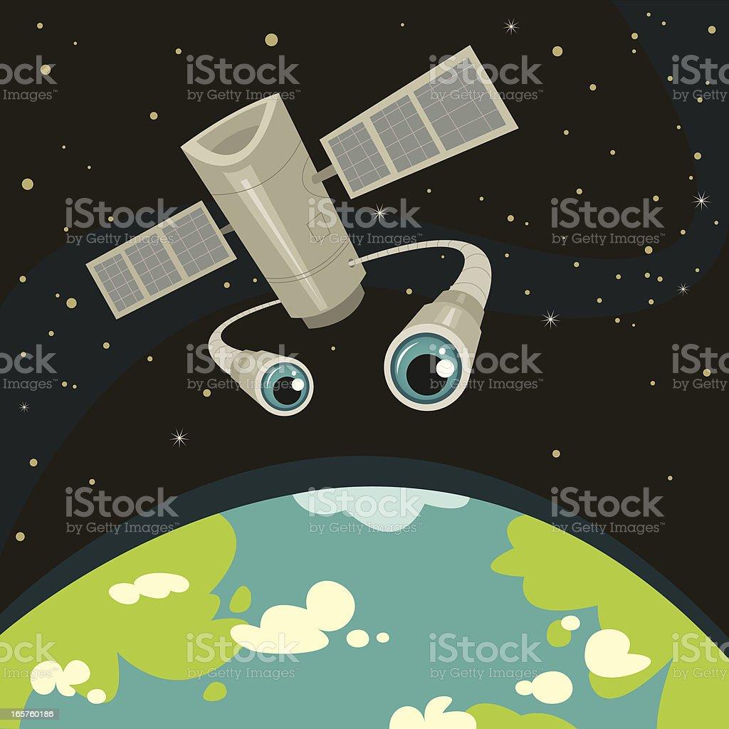 Eye in the Sky royalty-free stock vector art