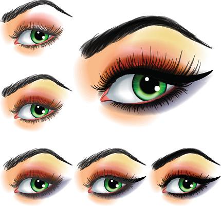 Eyebrow Clip Art, Vector Images & Illustrations - iStock