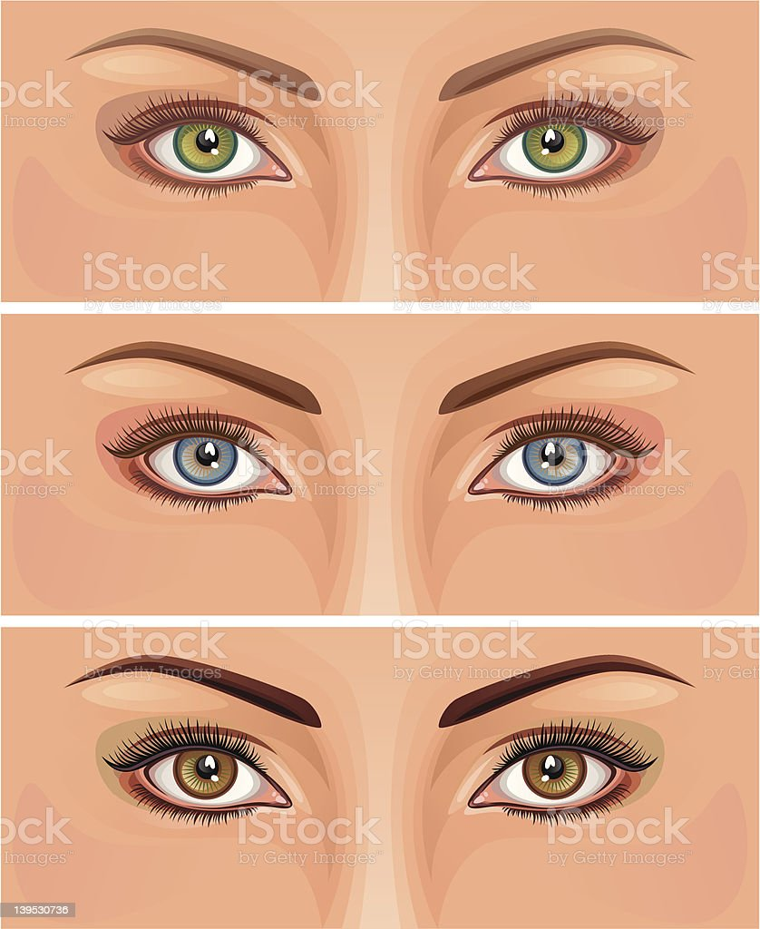 Eye royalty-free stock vector art