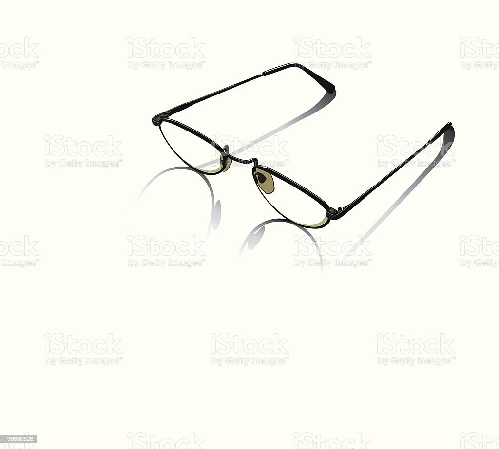 eyeglasses royalty-free stock vector art