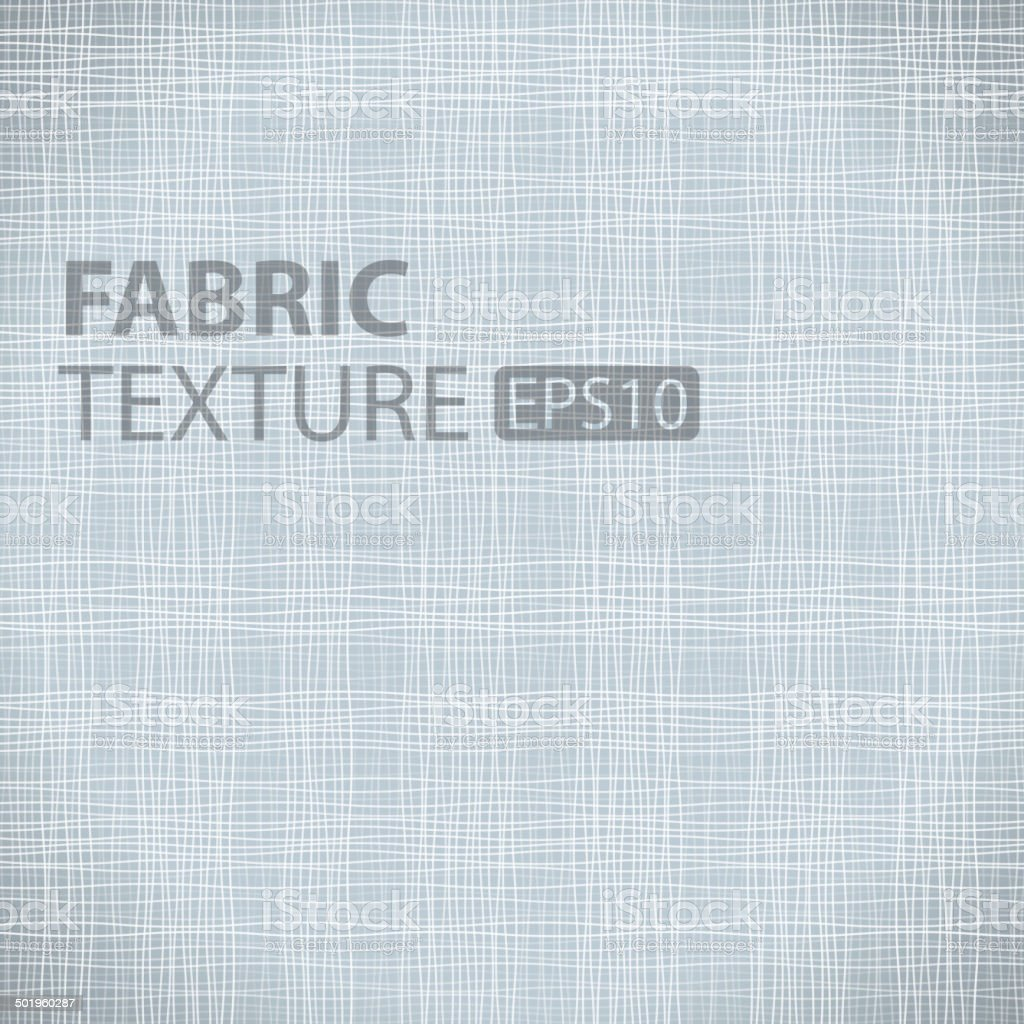 Fabric Texturefor your design. vector art illustration