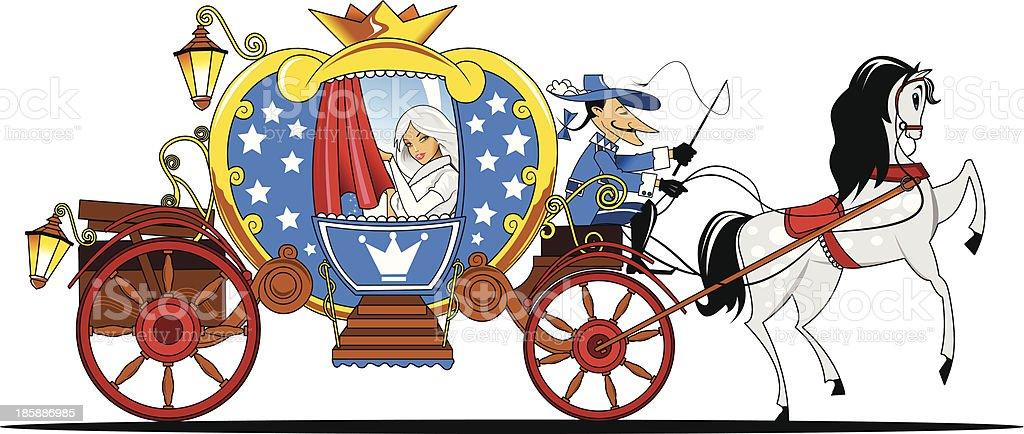 fabulous coach royalty-free stock vector art