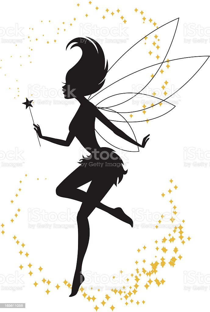 Fairy Magic vector art illustration