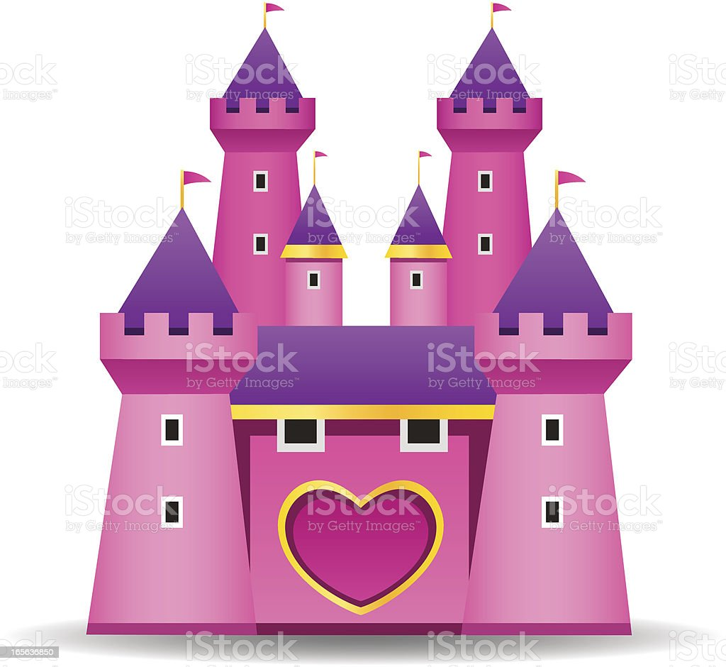 Fairy Tale Castle royalty-free stock vector art