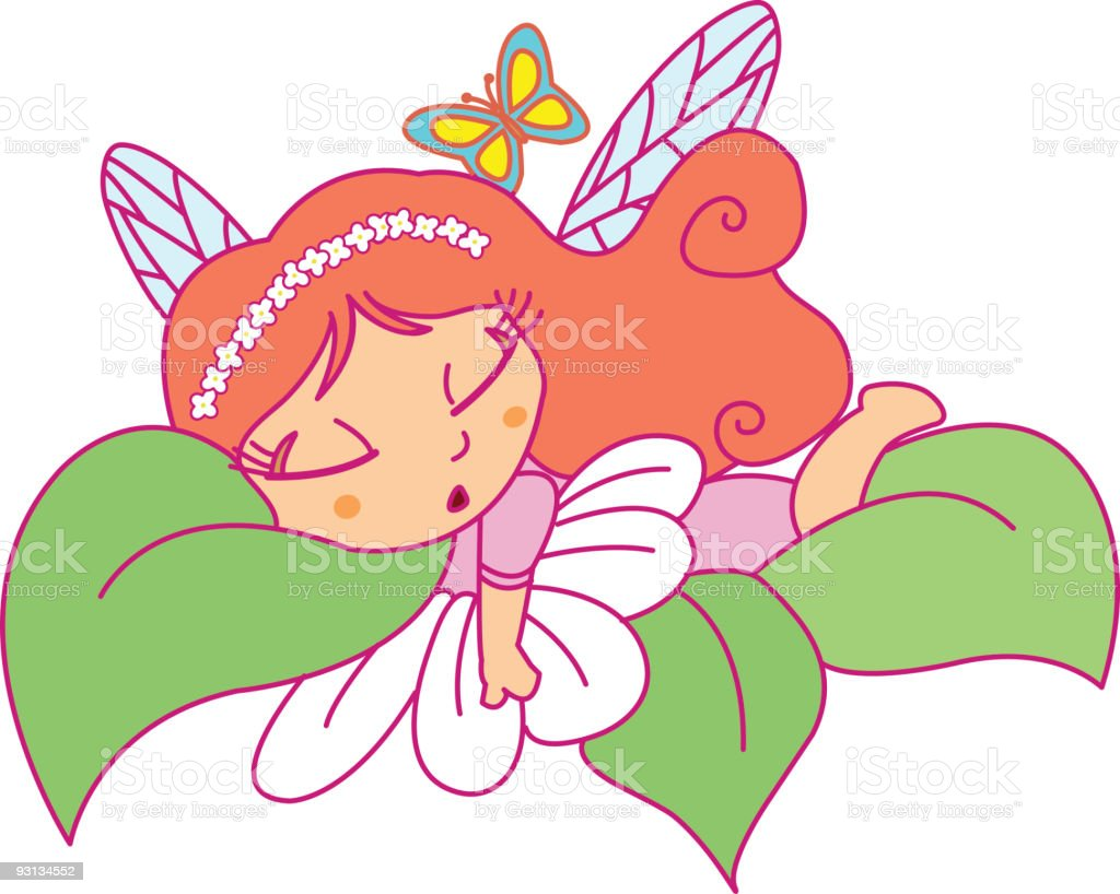 Fairy royalty-free stock vector art