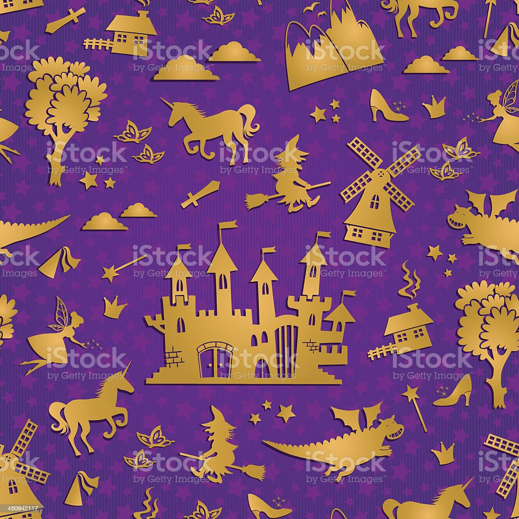 fairytale pattern royalty-free stock vector art