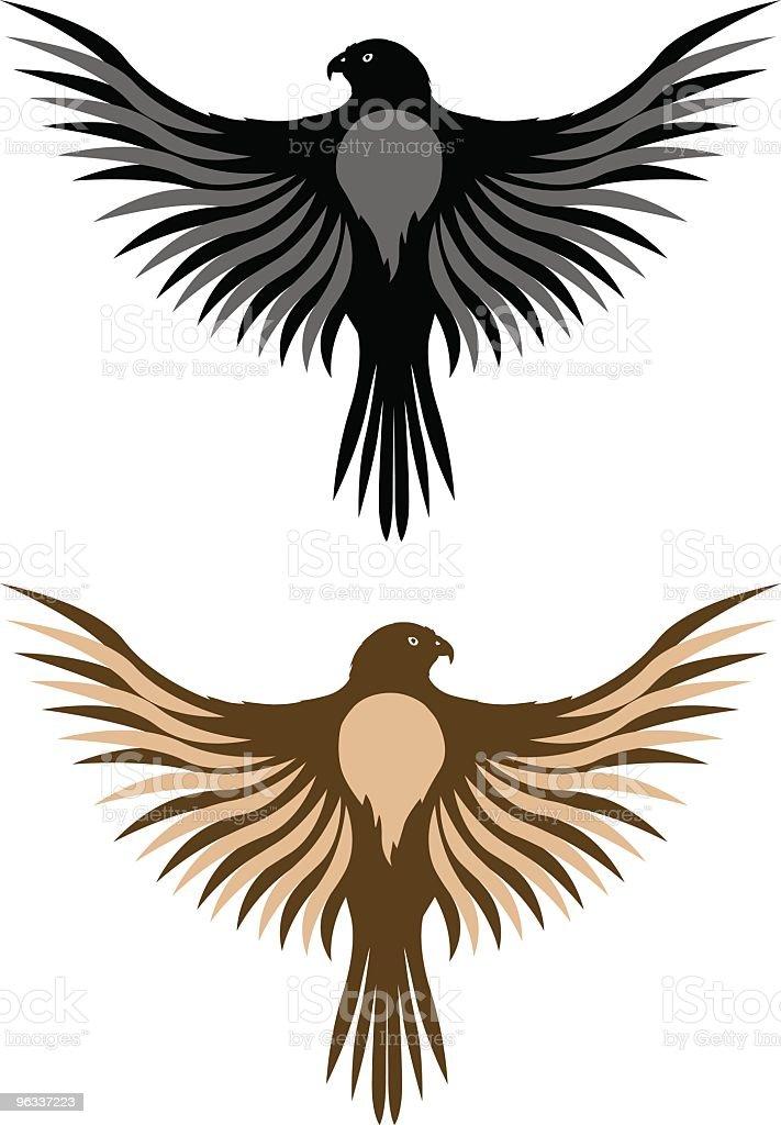 Falcon ~ Vector royalty-free stock vector art