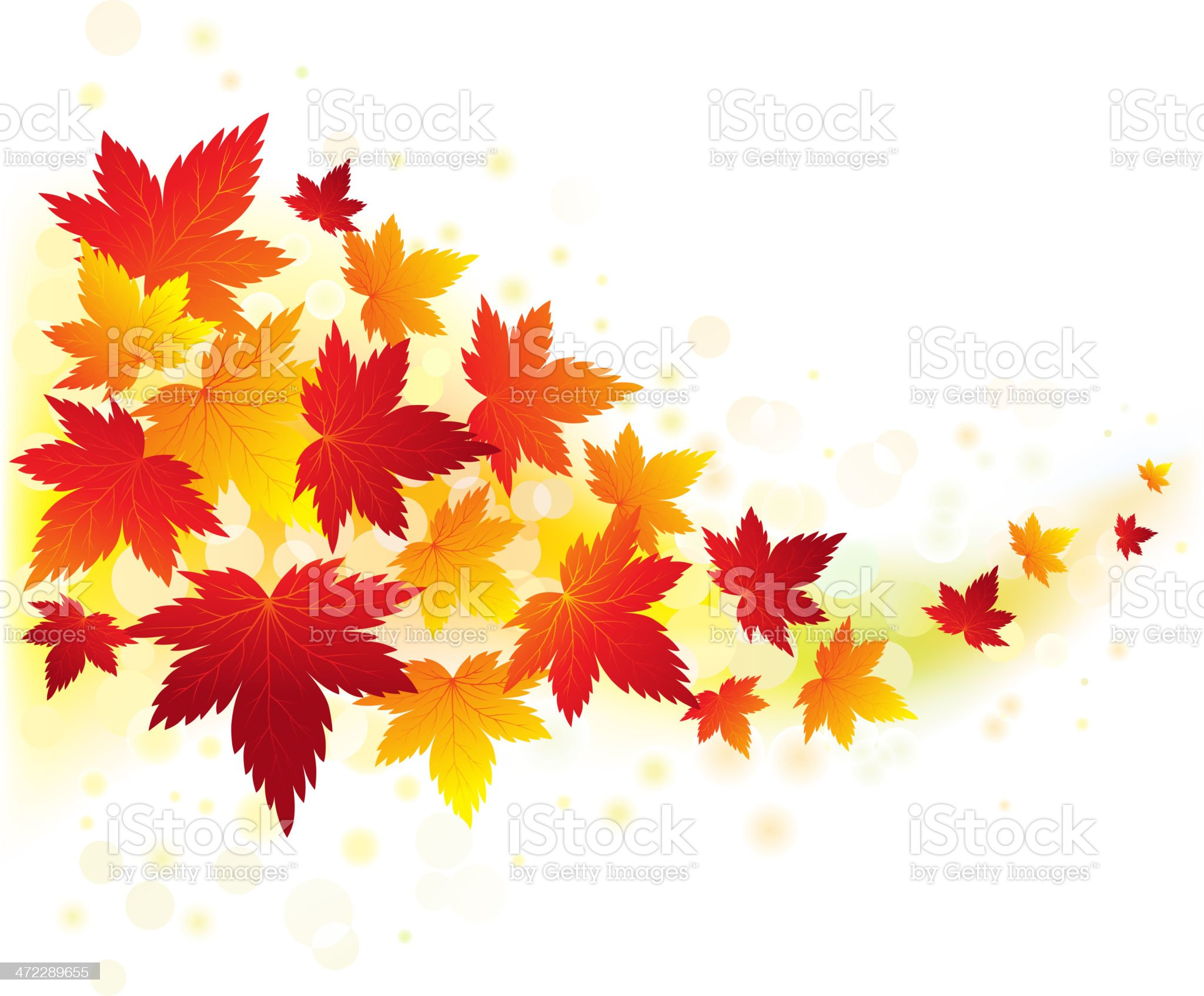 Fall background royalty-free stock vector art