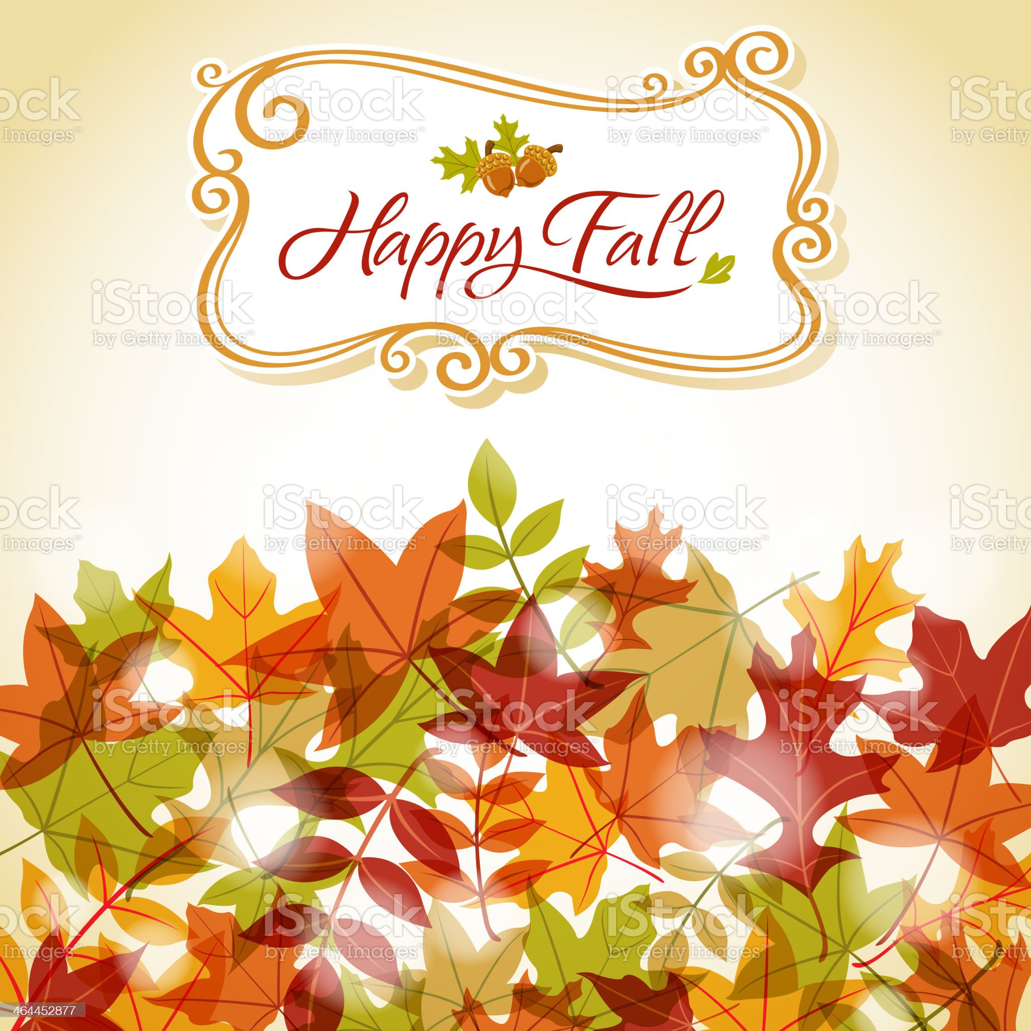 Fall Harvest royalty-free stock vector art