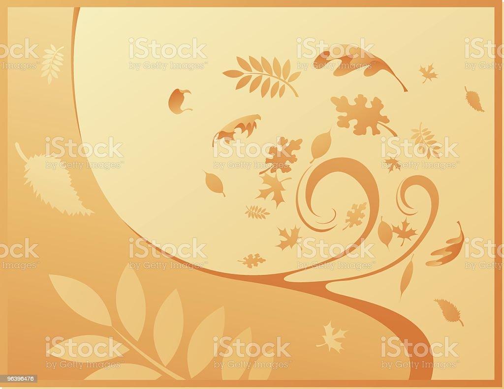 Fall Season Background royalty-free stock vector art