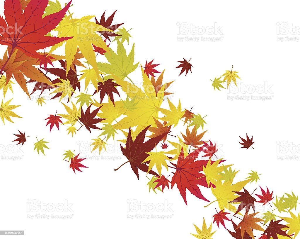 fall royalty-free stock vector art