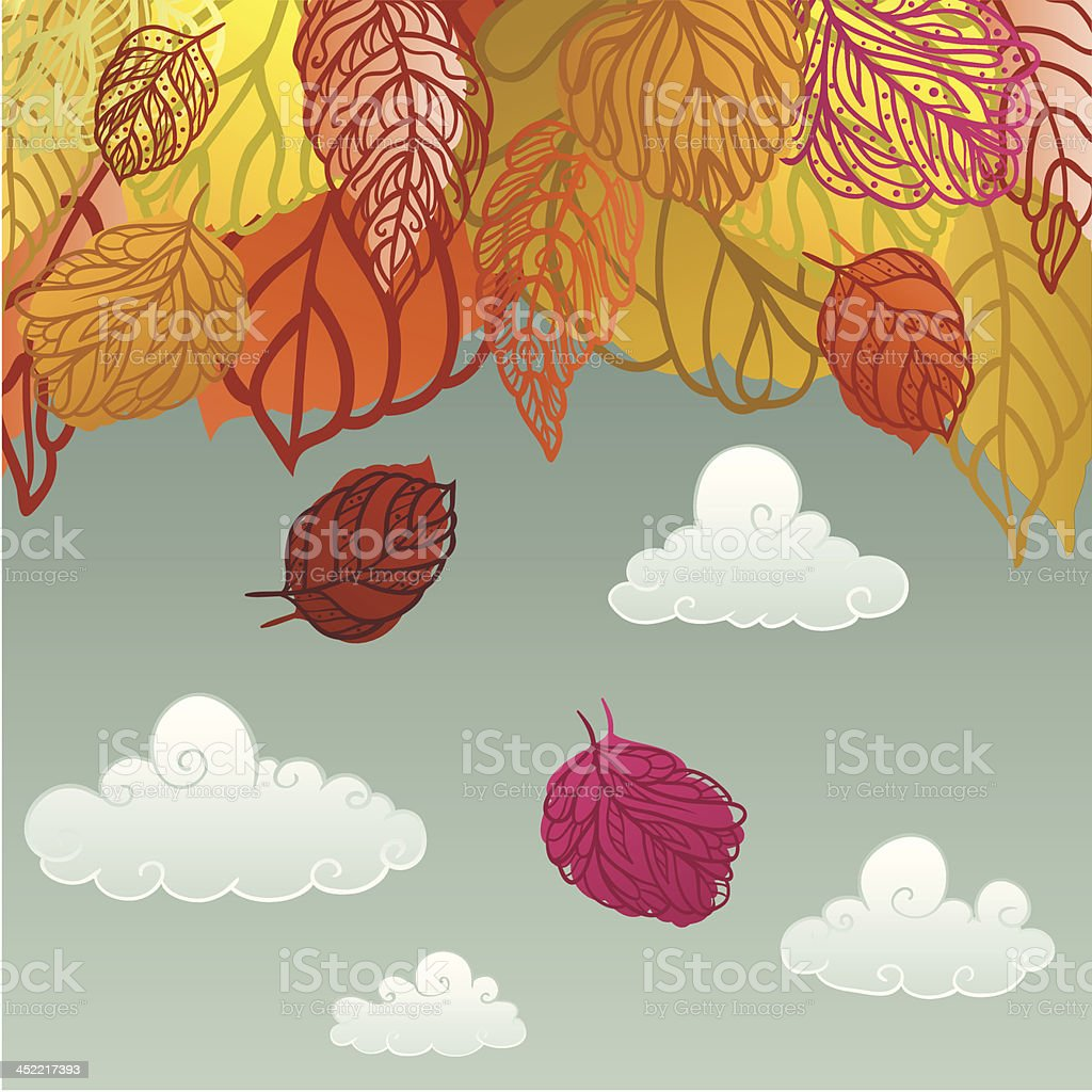Fall royalty-free stock vector art
