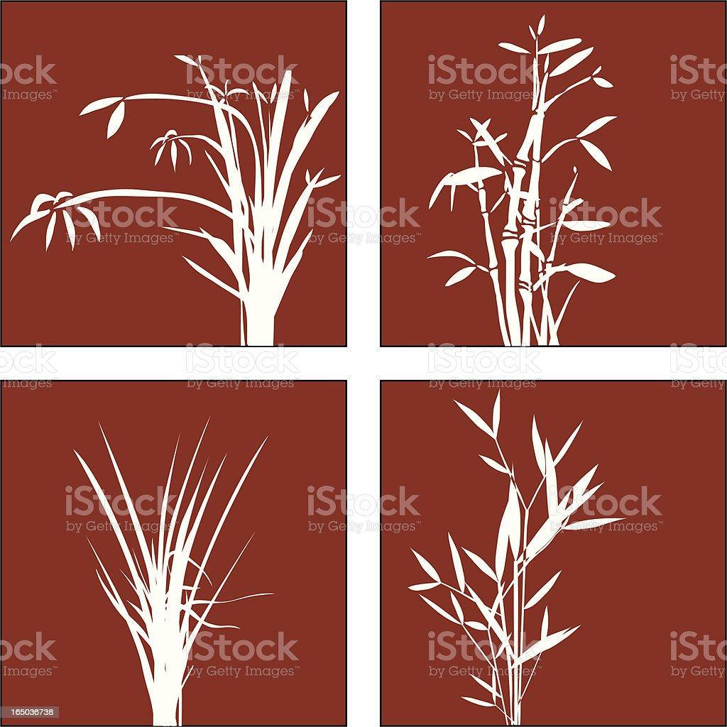 Fall Vegetation 02 royalty-free stock vector art