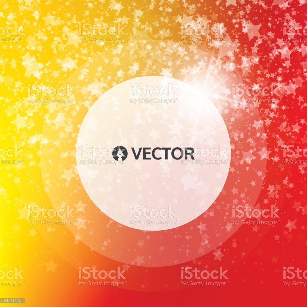 Falling snow background. Abstract snowflake pattern. Vector illustration. vector art illustration