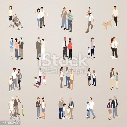 Families illustration