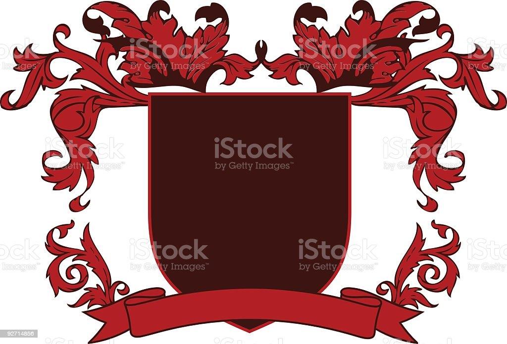 Family Crest royalty-free stock vector art