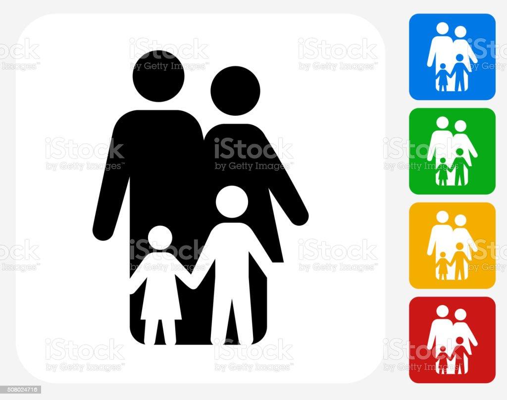 family icon flat graphic design stock vector art 508024716 istock