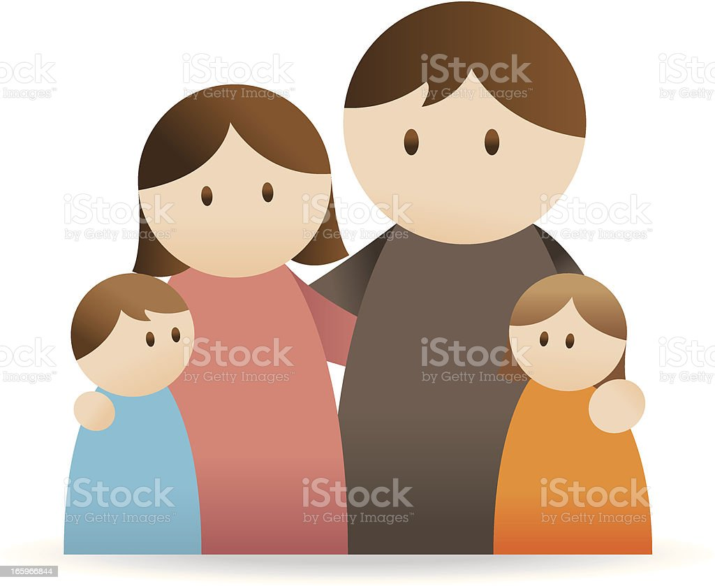 Family Icon royalty-free stock vector art