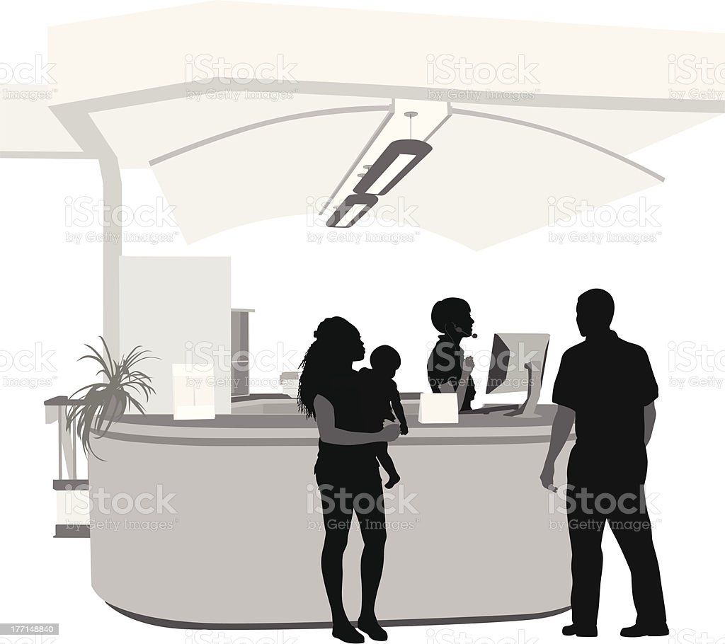 Family Services royalty-free stock vector art