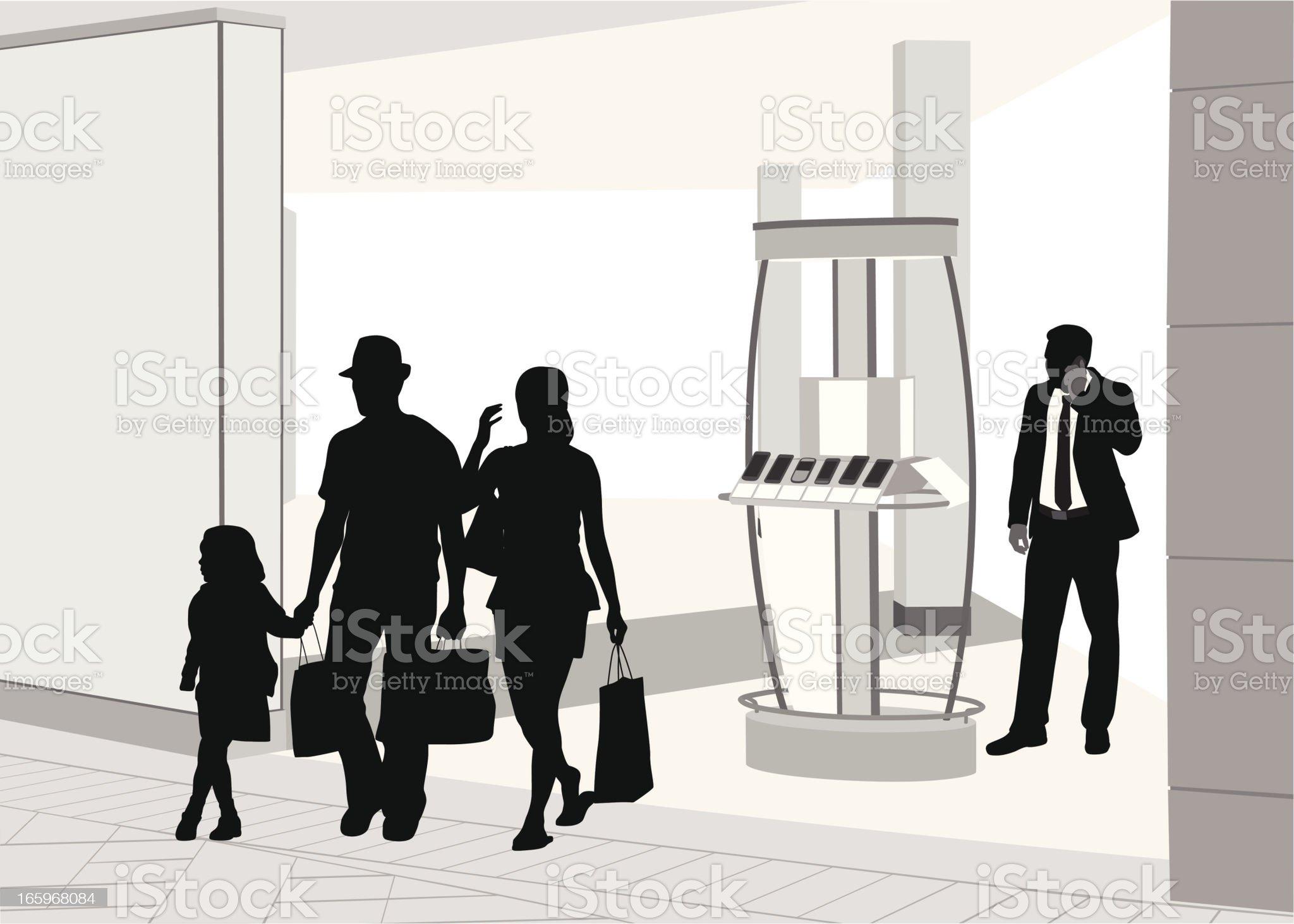 Family'n Retail royalty-free stock vector art