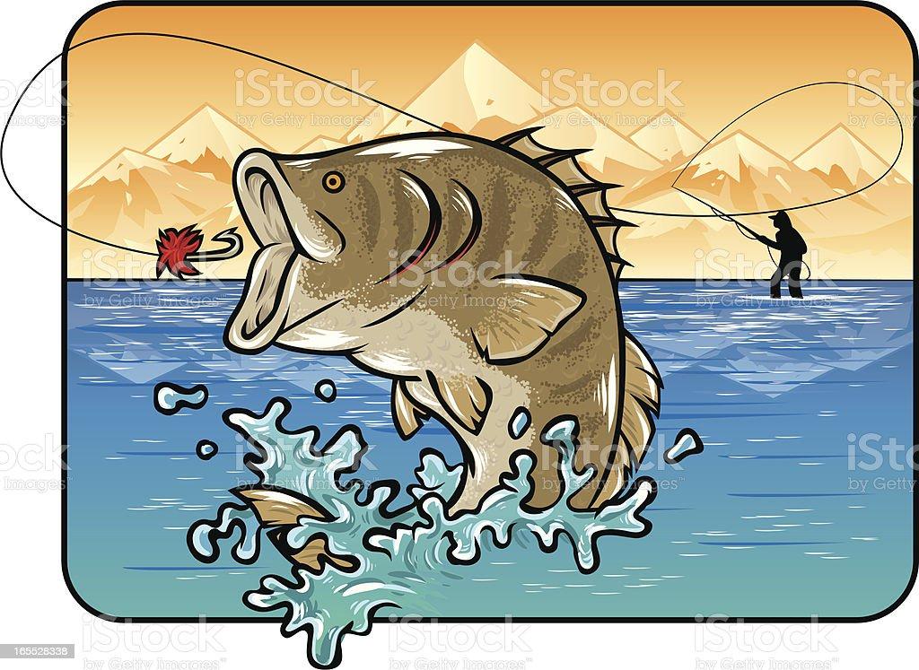 fancy fish royalty-free stock vector art