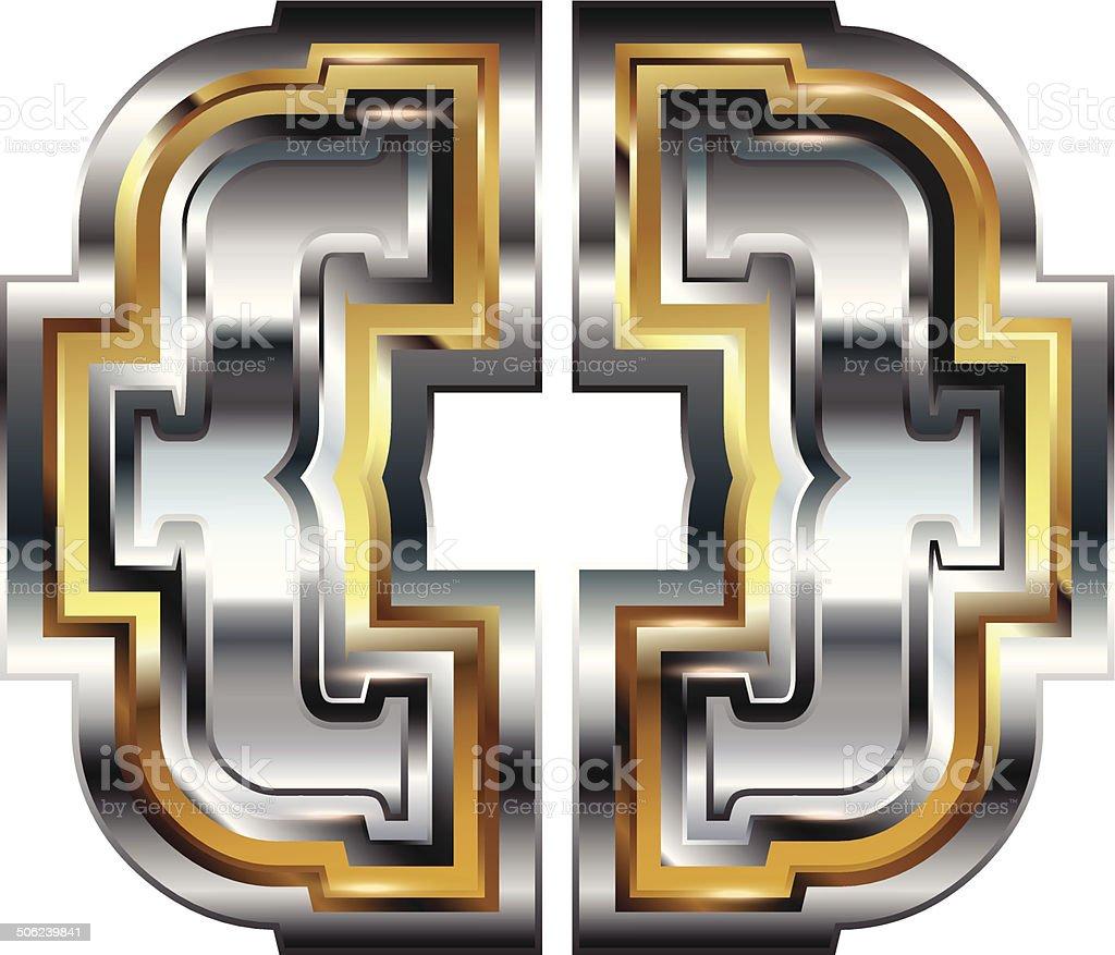 Fancy symbol royalty-free stock vector art