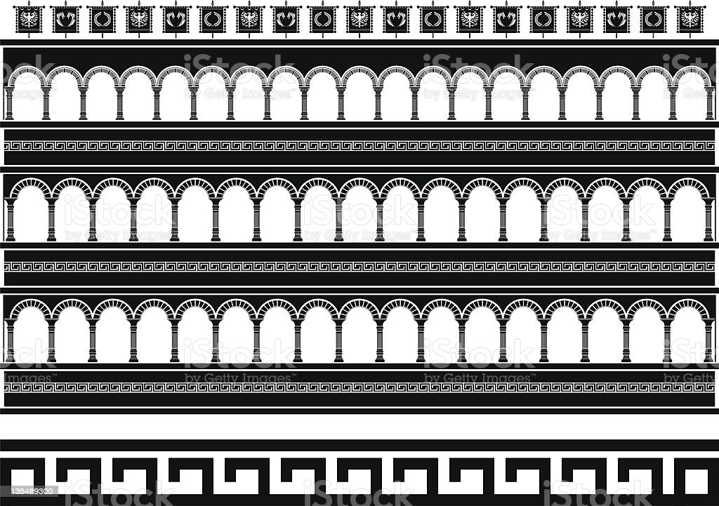 fantasy colosseum royalty-free stock vector art