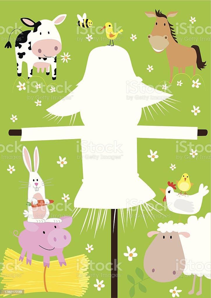 farm animal menu royalty-free stock vector art