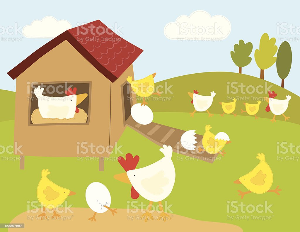 Farm Animals (Series) royalty-free stock vector art