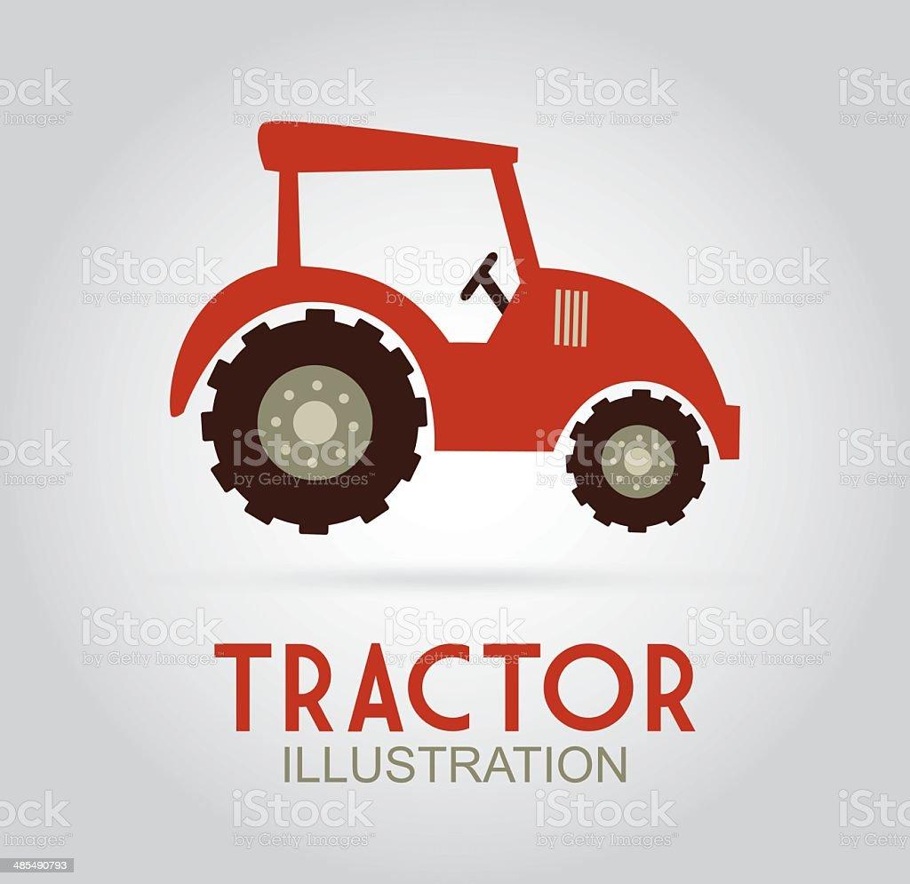 Farm design royalty-free stock vector art