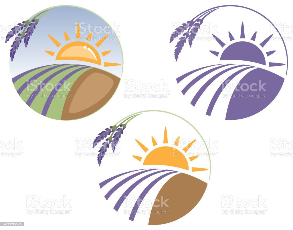Farm Icons vector art illustration