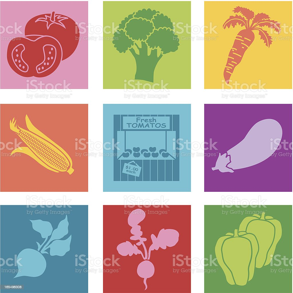 farm stand royalty-free stock vector art