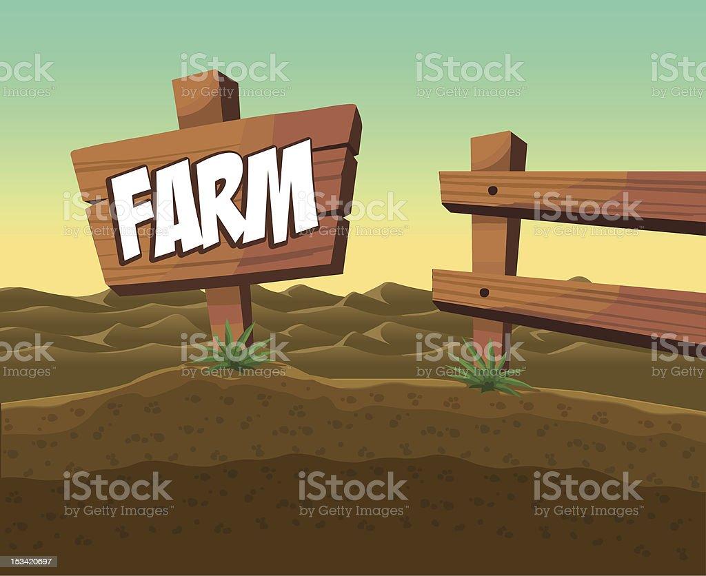 Farm royalty-free stock vector art