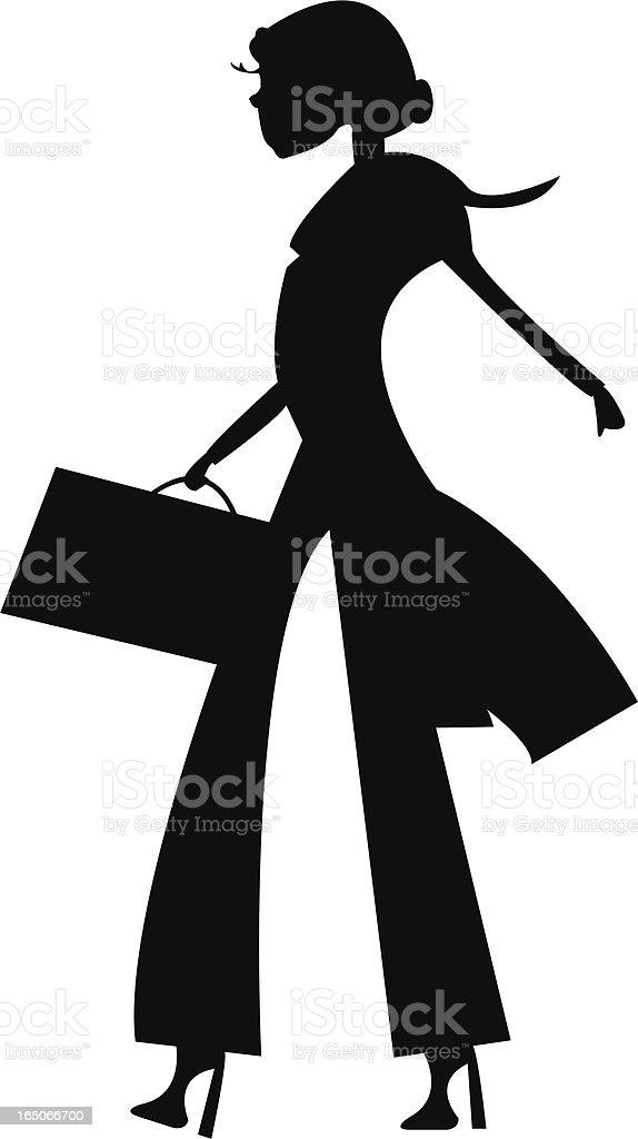 Fashion Business vector art illustration