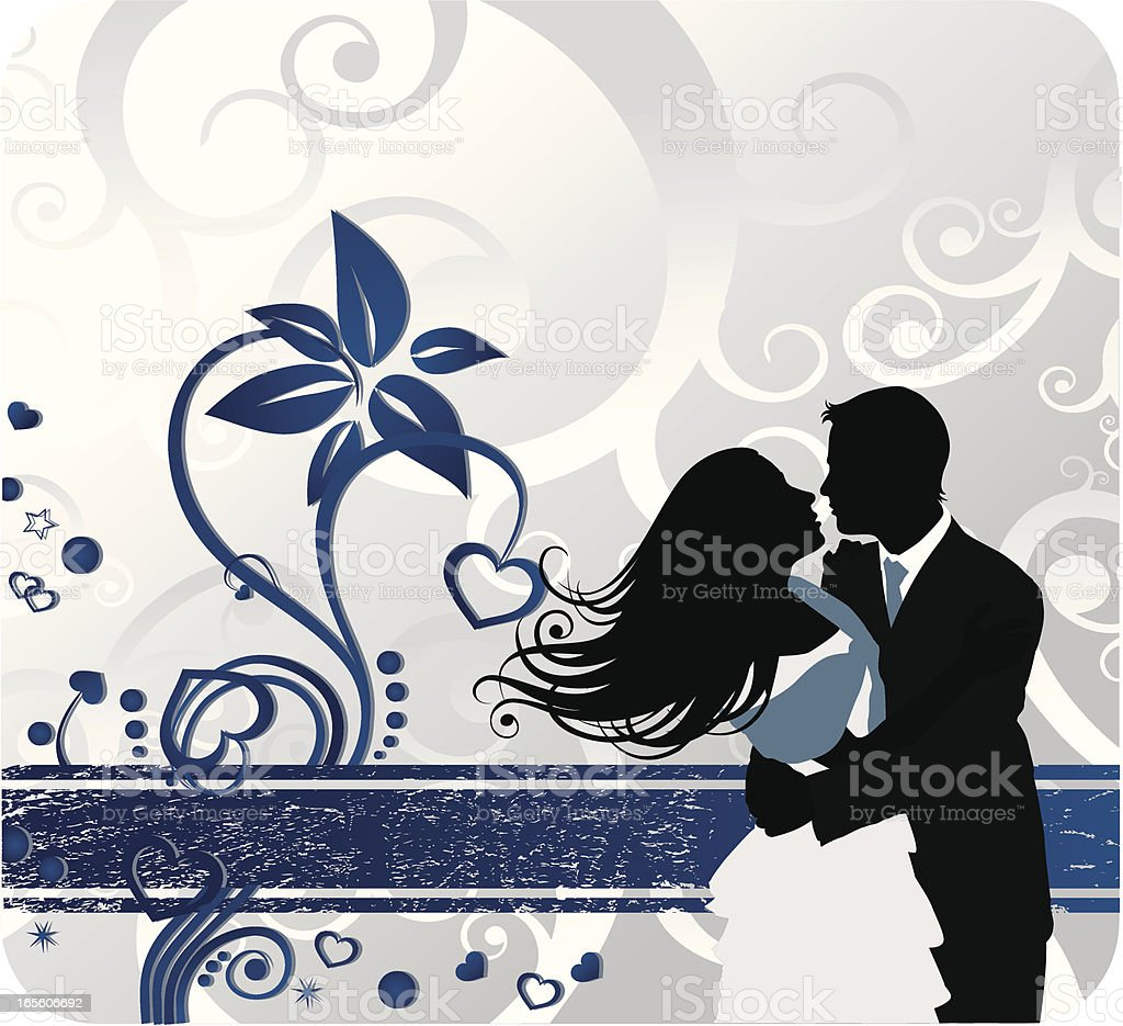 Fashion Couple Banner royalty-free stock vector art