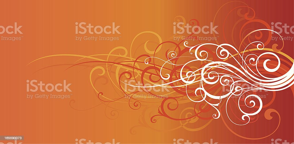Fashion Curls royalty-free stock vector art