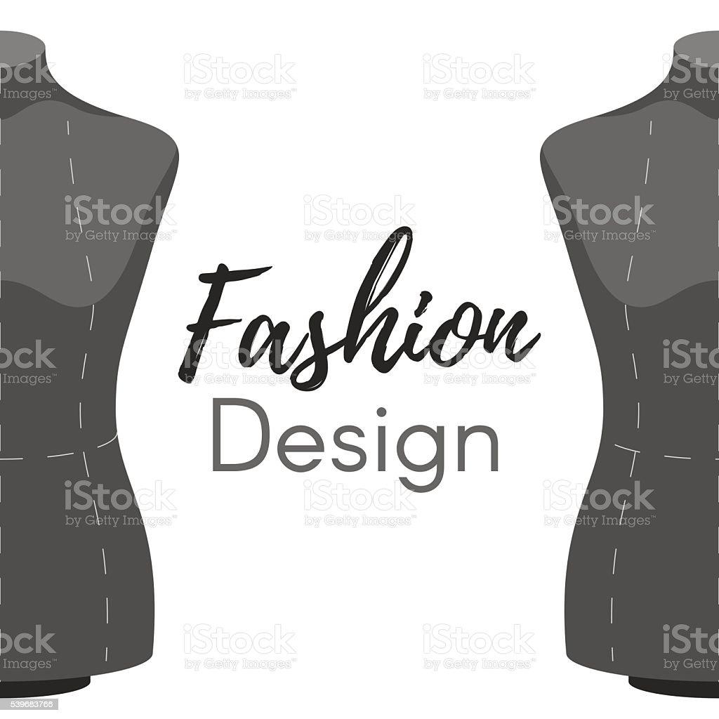 Fashion design cover vector art illustration