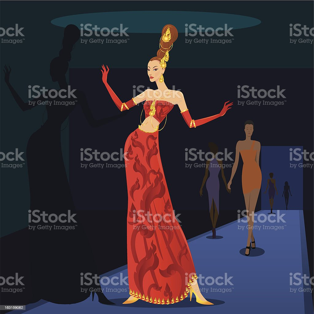 fashion design royalty-free stock vector art
