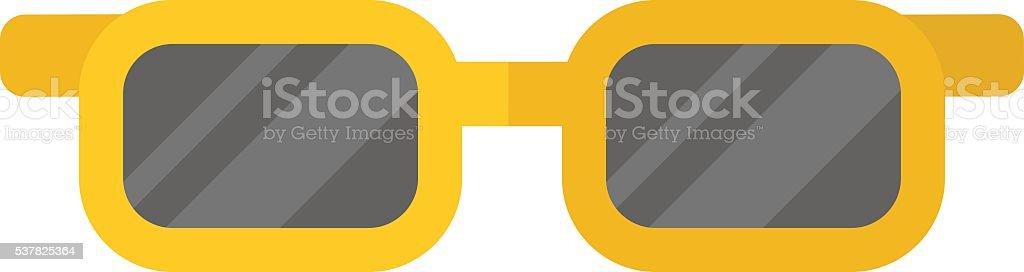 Fashion glasses vector illustration. vector art illustration