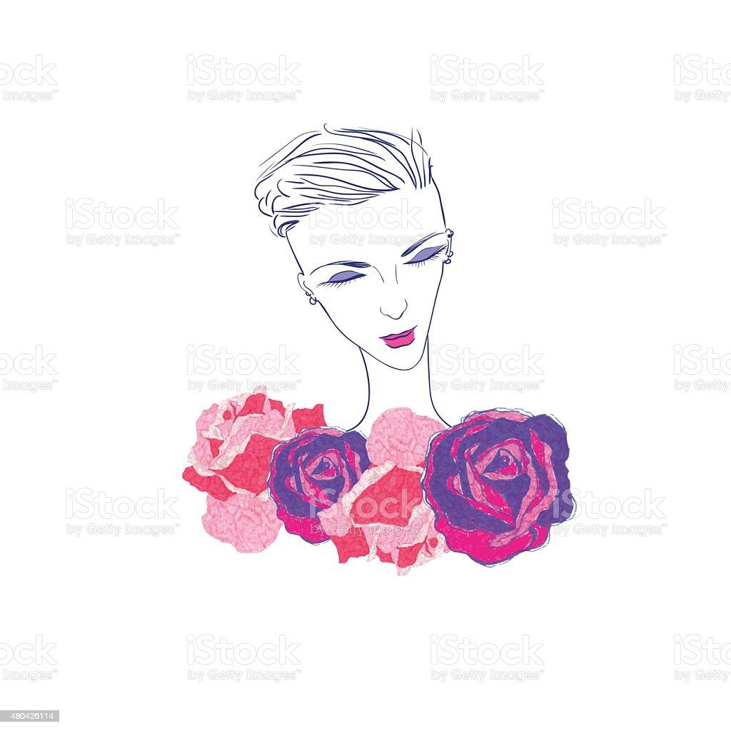 fashion illustration vector art illustration