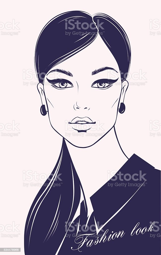 Fashion illustration royalty-free stock vector art