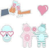 Fashion patch badges