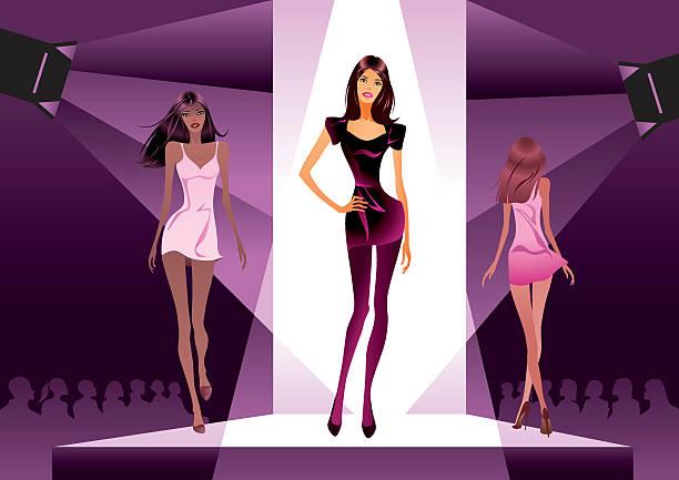 Runway Fashion Show Clipart