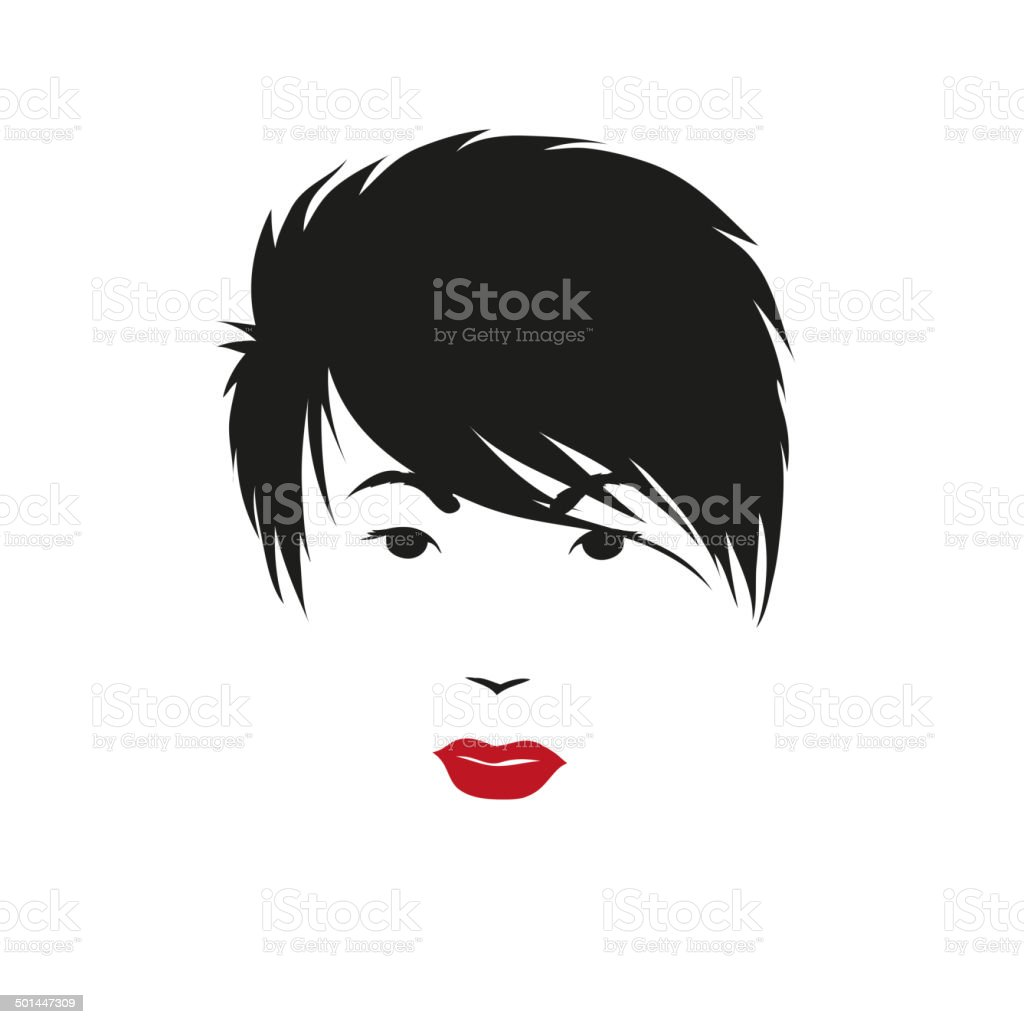 Fashion silhouette woman style, vector illustration vector art illustration