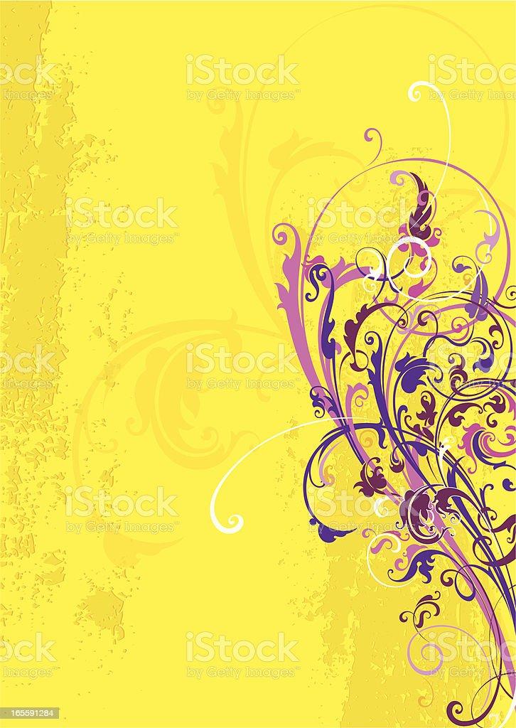 Fashion Summer Scroll royalty-free stock vector art