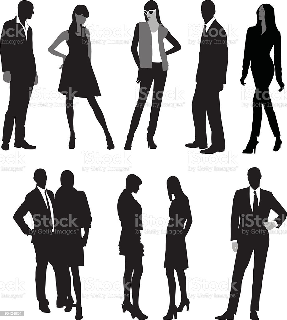 Fashion royalty-free stock vector art