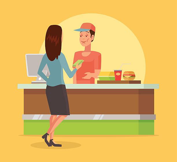 Cashier Cartoons: Cashier Clip Art, Vector Images & Illustrations