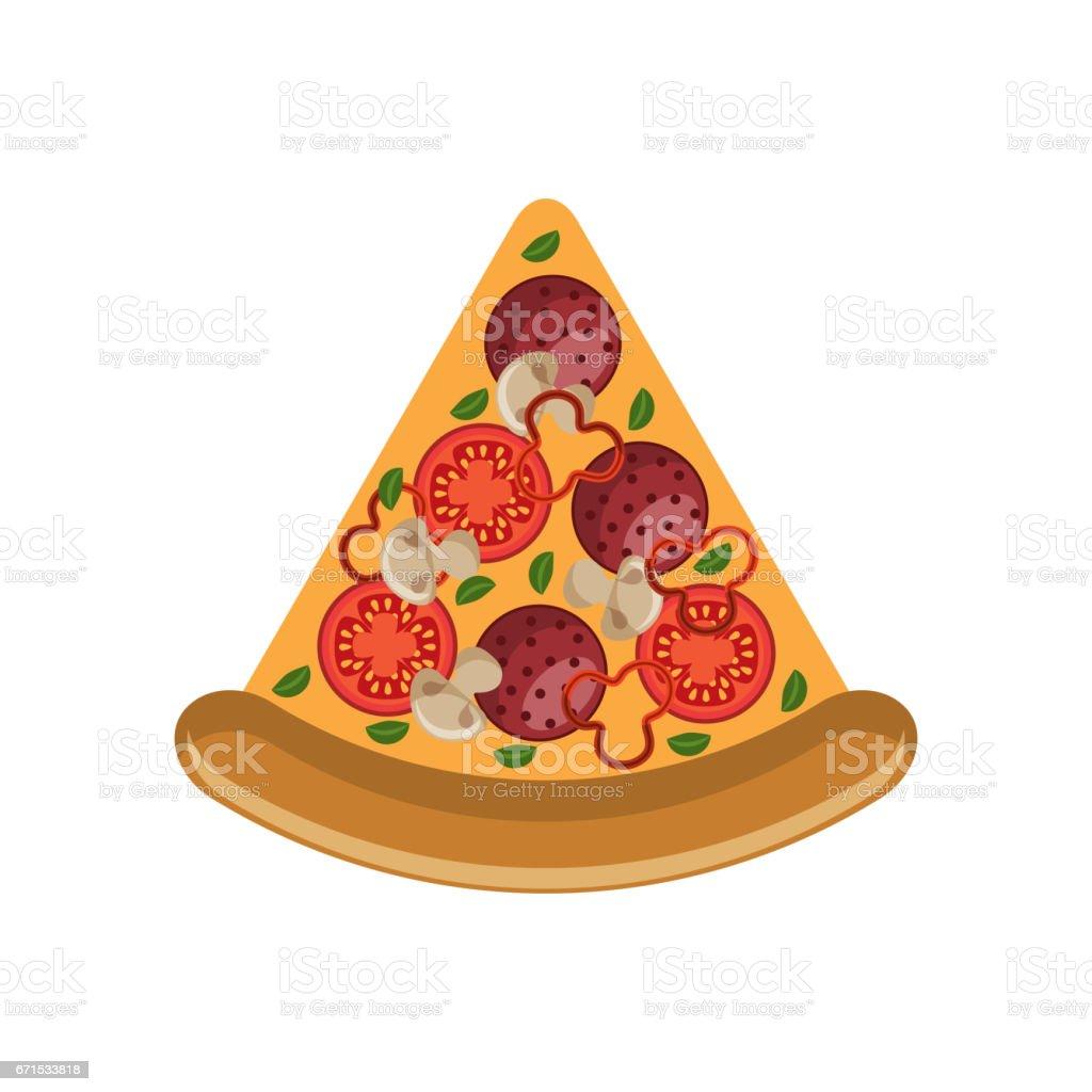 fast food design vector art illustration
