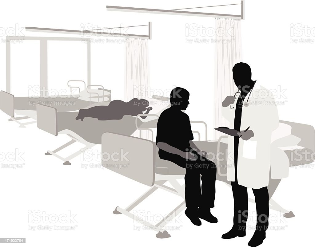 Fast Recovery vector art illustration